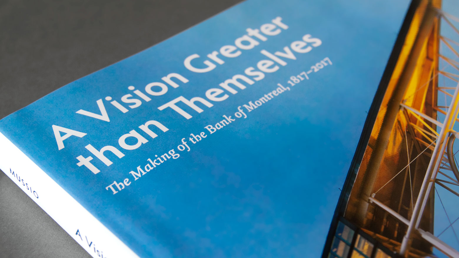 Close-up picture of the book cover