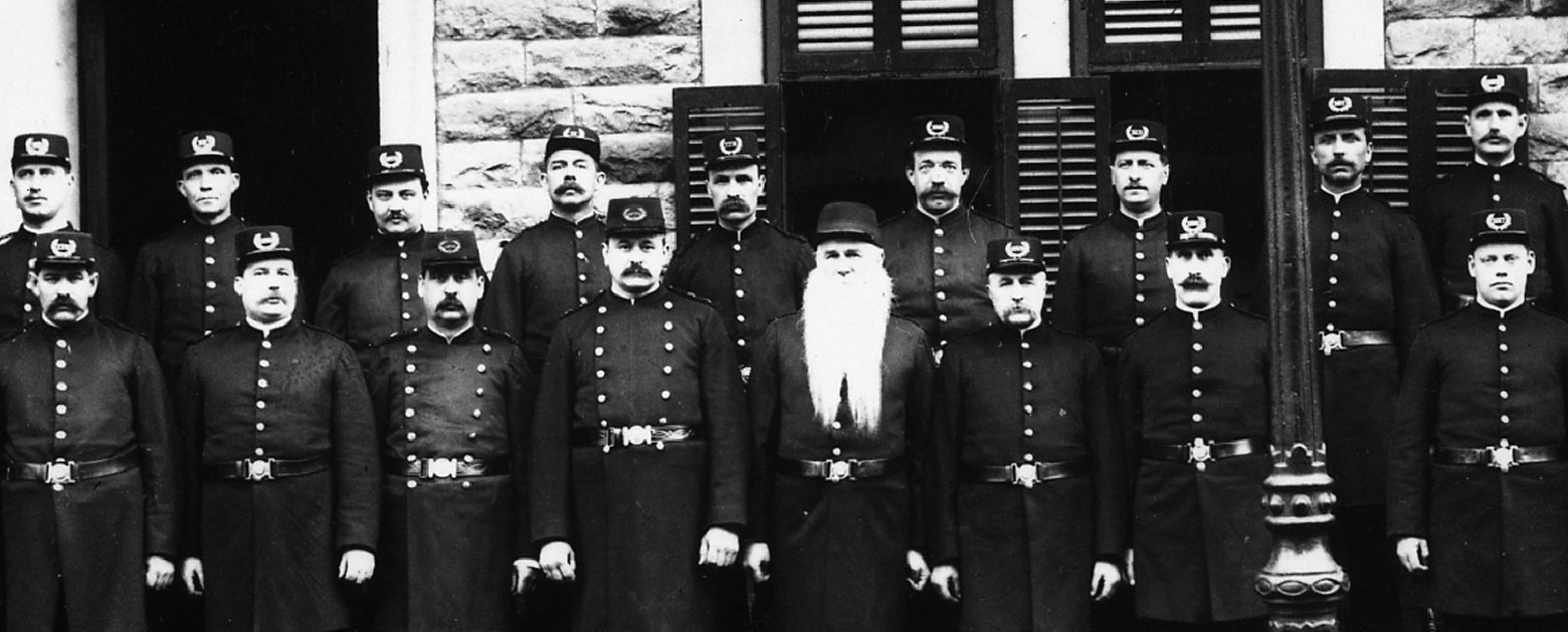 Montreal police force, inaugurated in 1843.