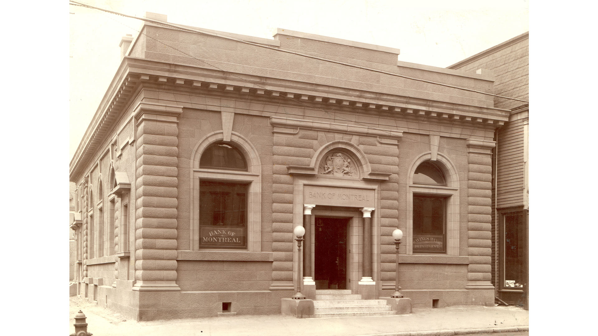 The Moncton, New Brunswick branch, opened in 1908