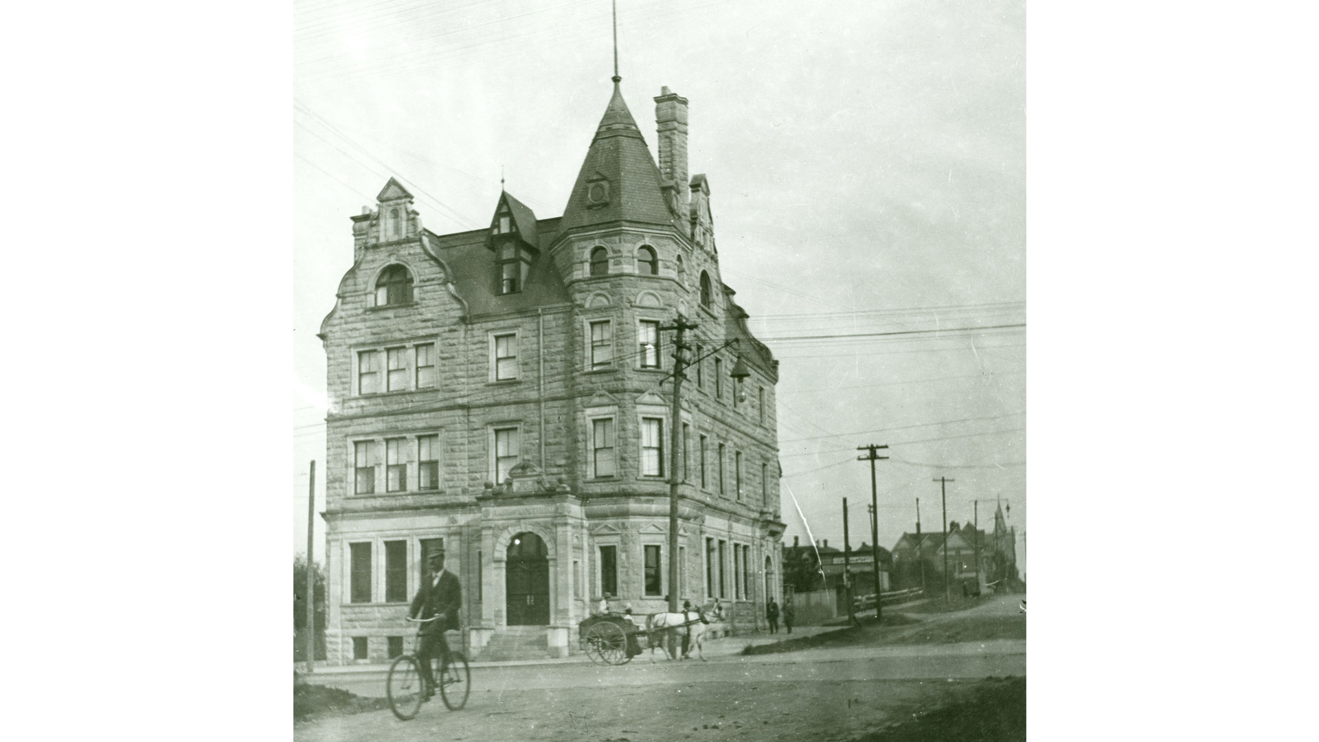 Vancouver branch, 1900.