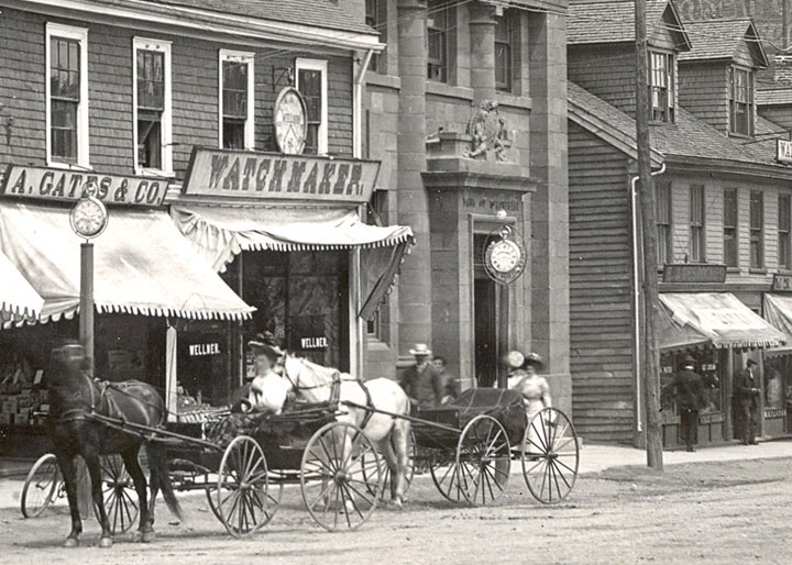 The Charlottetown Bank of Montreal branch, 1909.